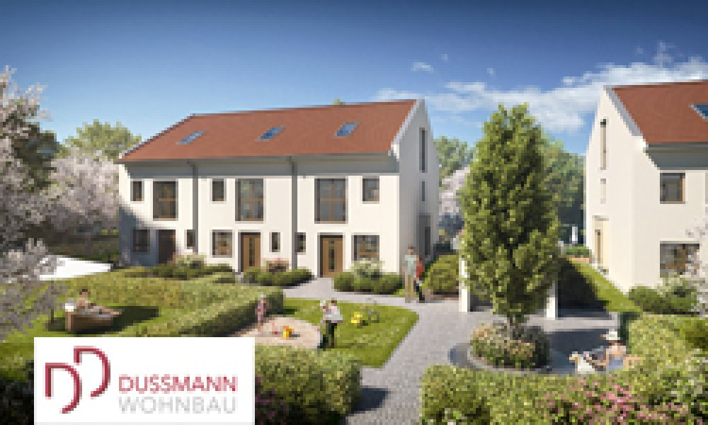 Josef Widmann Park Alt-Aubing | 6 new terraced houses and 10 condominiums