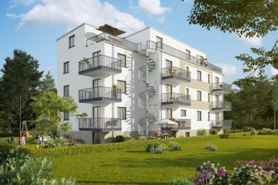 Building project EAST 1 URBANES WOHNEN