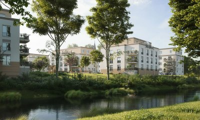 Building project Quartier am alten Schlosspark