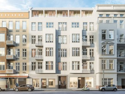 Building project 54 Urban Residence Charlottenburg